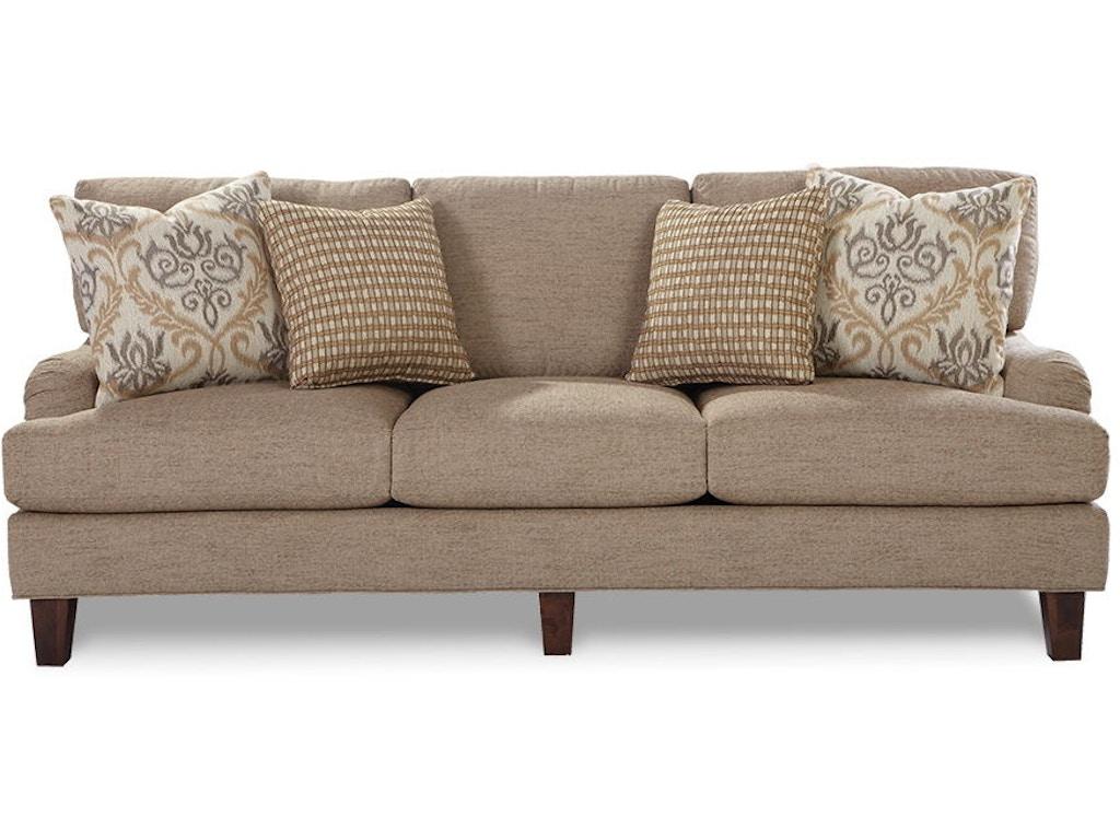 Craftmaster living room sofa 743050 goldsteins furniture for Living room quilt