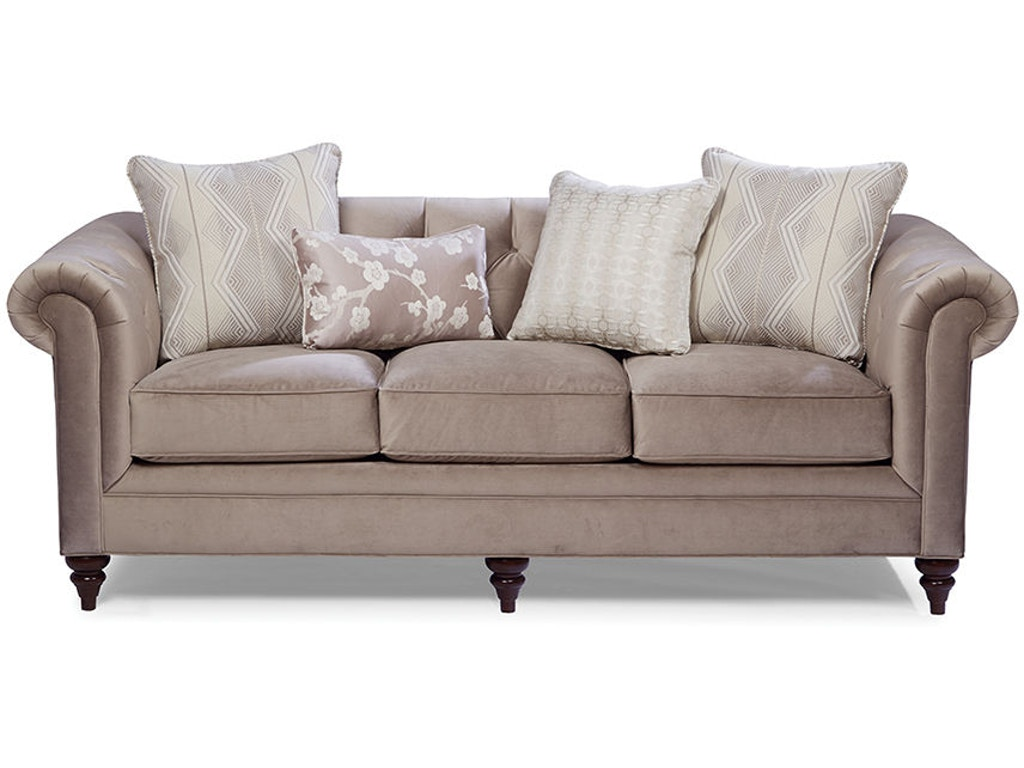 Craftmaster living room sofa 743350 schmitt furniture for Classic furniture new albany in