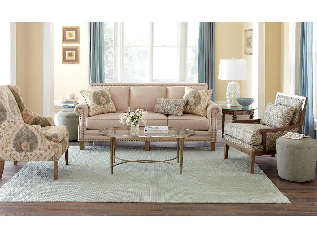 Living Room Furniture North Carolina Hickorycraft Living Room Sofa 747150 Hickorycraft Upholstery