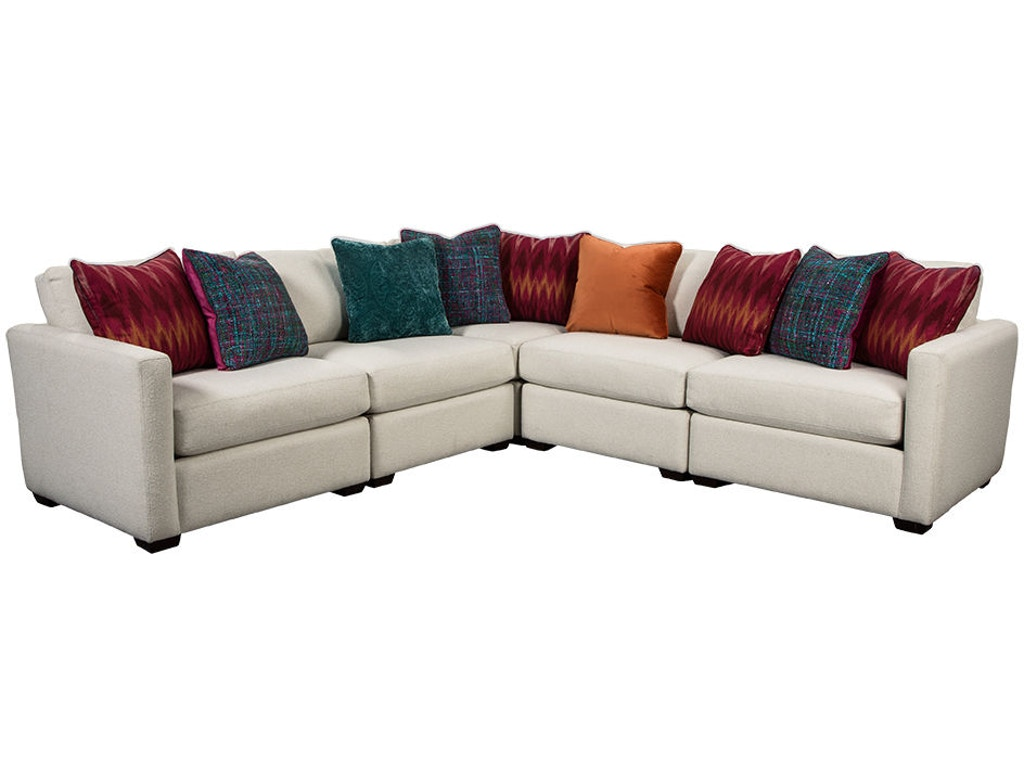 Craftmaster Living Room Sectional 7511 Sect Carol House Furniture Maryland Heights And