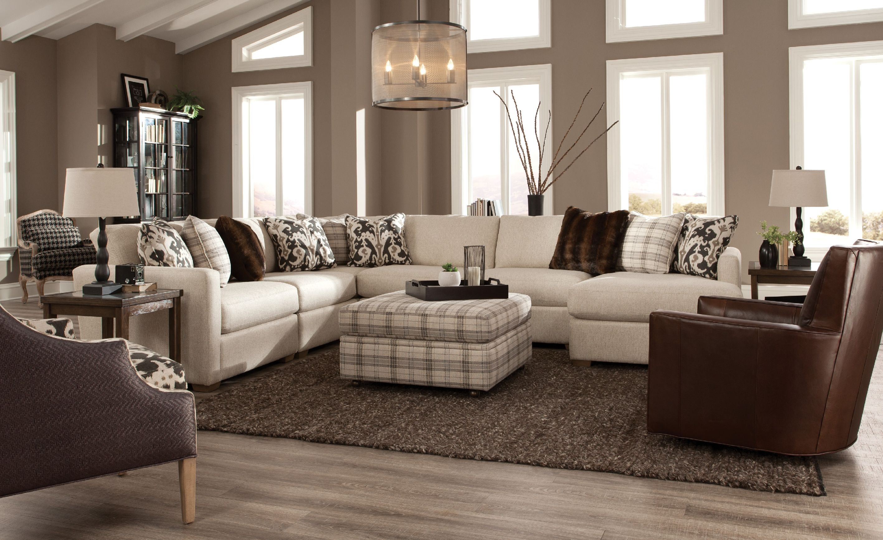 Charmant Craftmaster Sectional 7511 SECT