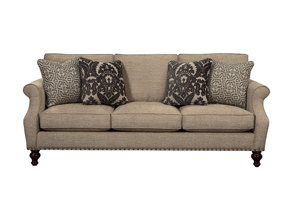 Hickorycraft Living Room Sofa 753250
