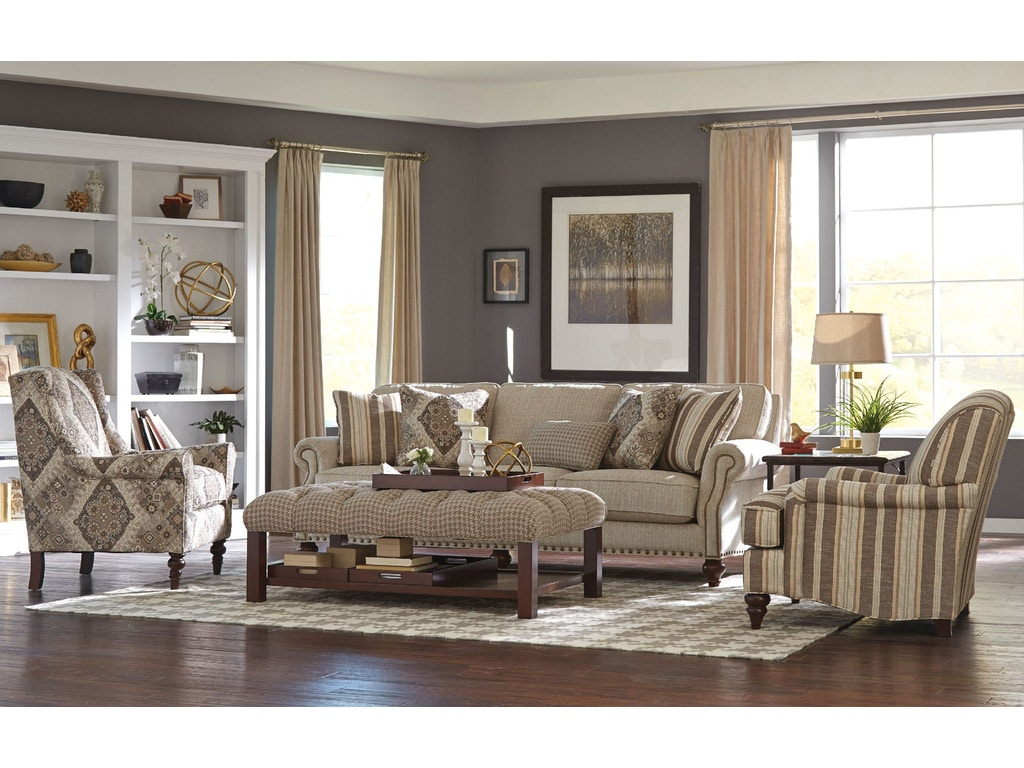 Craftmaster Living Room Sofa 762350 Carol House Furniture Maryland Heights And Valley Park Mo