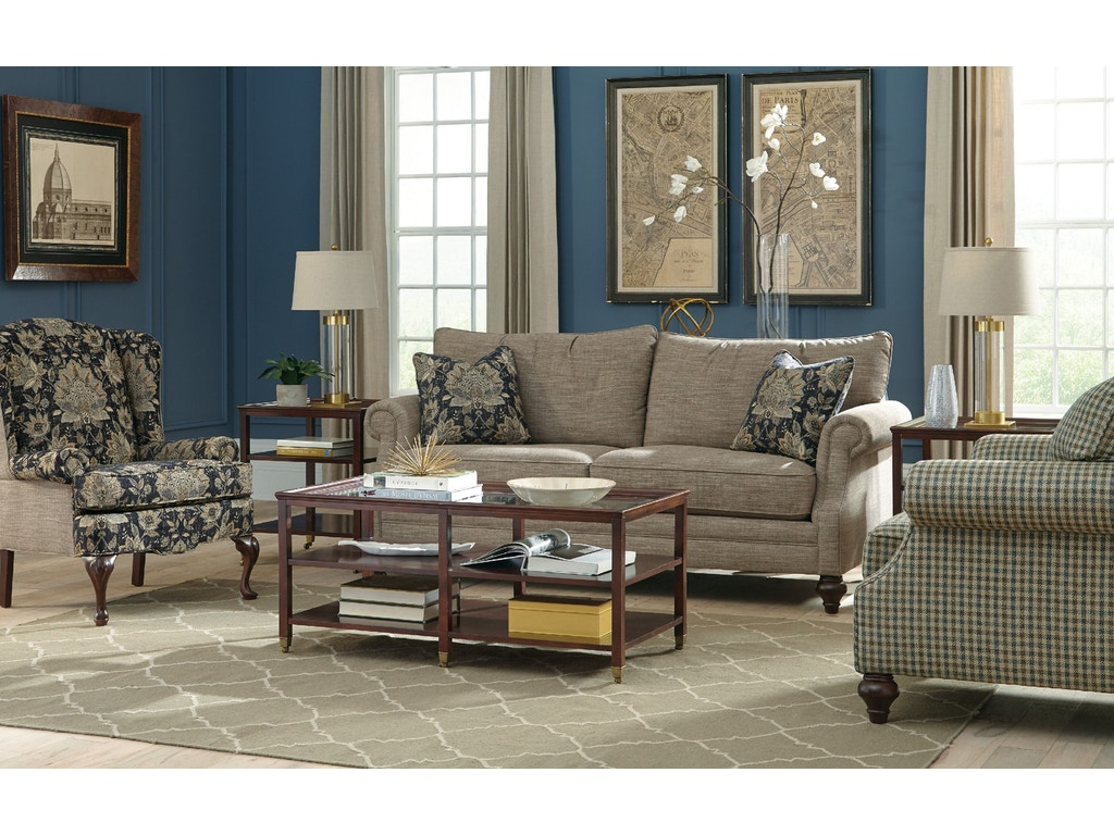 Craftmaster Living Room Sofa 766950 Carol House