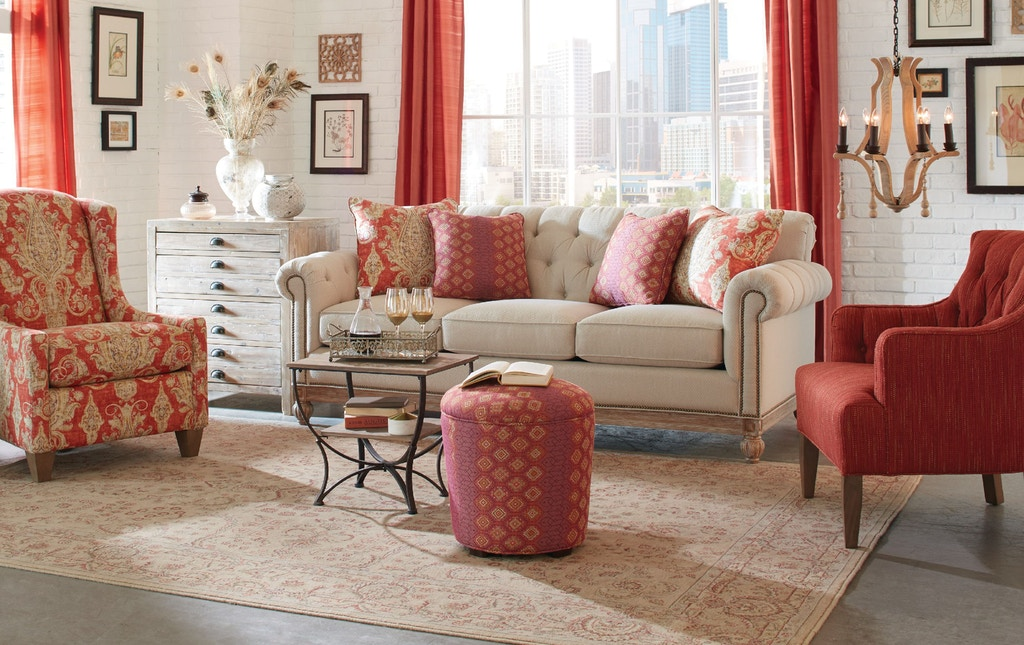 Craftmaster Living Room Sofa 768950 American Factory