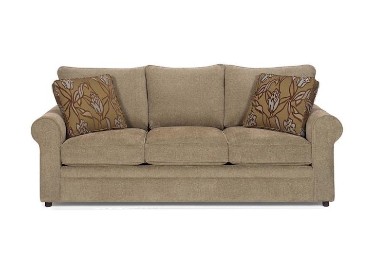 Craftmaster Living Room Three Cushion Sofa 774850 Good 39 S Furniture Kewanee Il