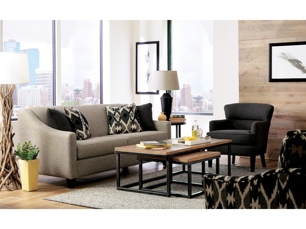 Craftmaster Living Room Sofa 776950-68 - A&W Furniture - Redwood ...