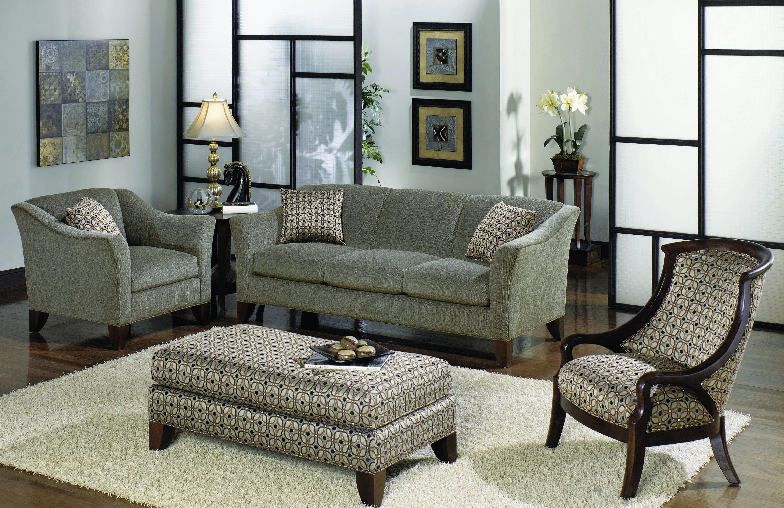 Hickorycraft Three Cushion Sofa 784450 · Hickorycraft Three Cushion Sofa  784450 ...