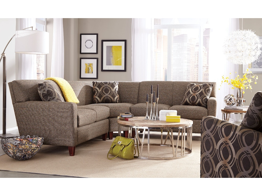 Living Room Sectionals On Craftmaster Living Room Sectional 7864 Sect Craftmaster