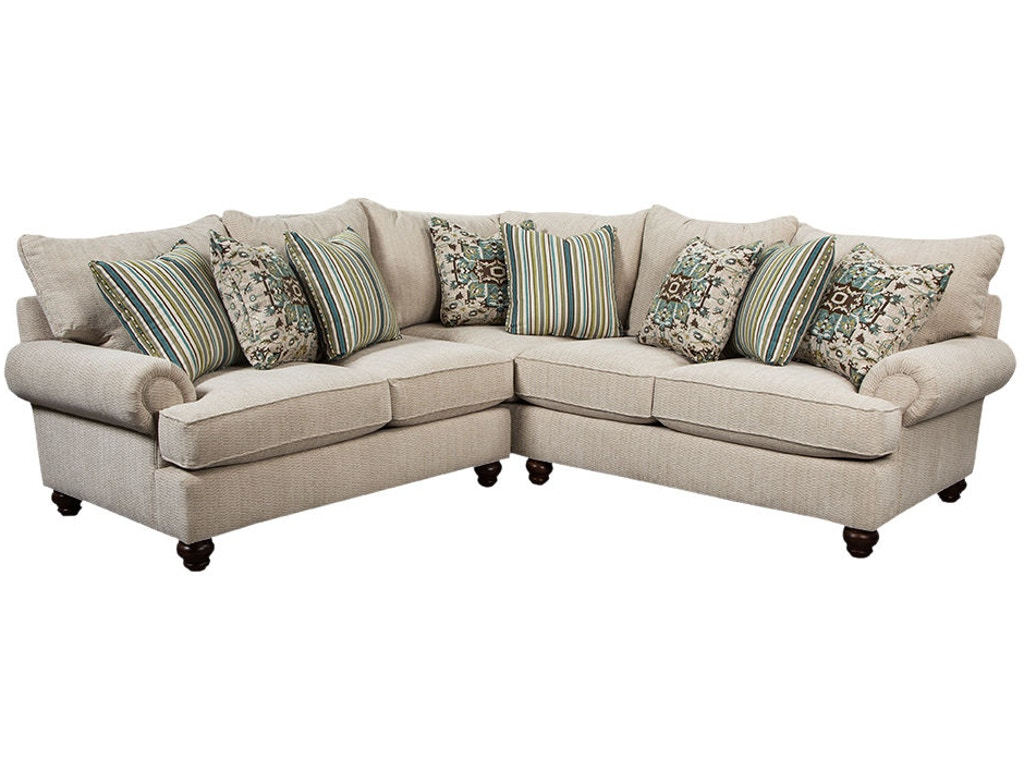 Craftmaster Living Room Sectional 7970-SECT - Lynchs Furniture ...