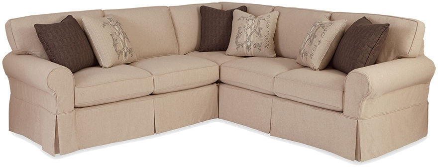 Craftmaster Living Room Sectional 9228 Sect Sleeper Matter