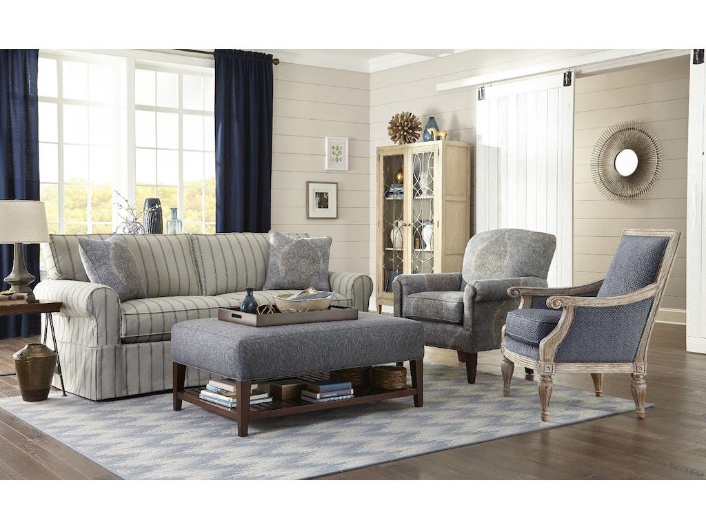 Craftmaster living room sofa 922850 goldsteins furniture for Living room quilt