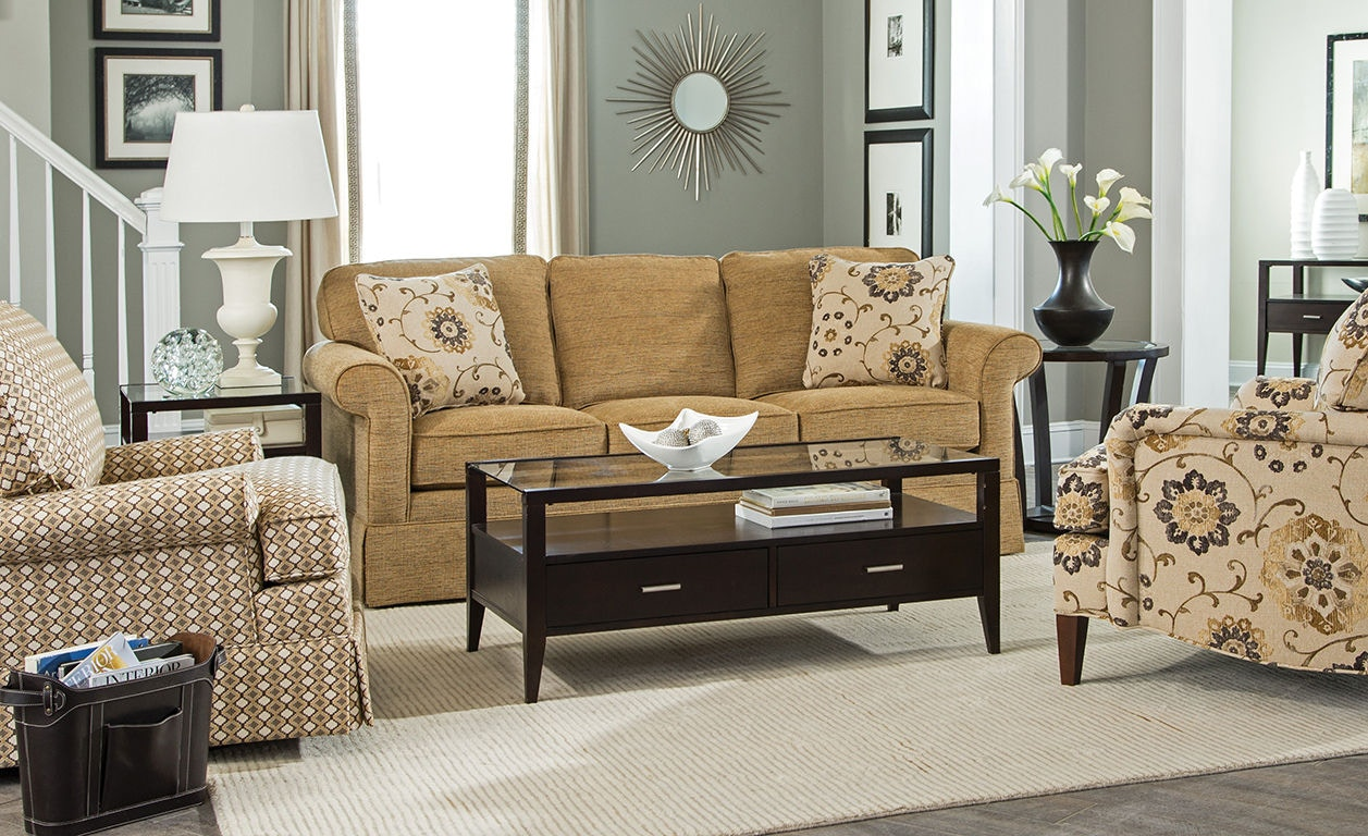 Craftmaster Living Room Sofa Stacy Furniture
