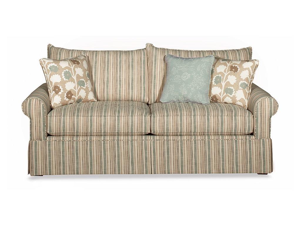 Two Loveseat Living Room Craftmaster Living Room Two Cushion Sofa 973950 68 Sleeper