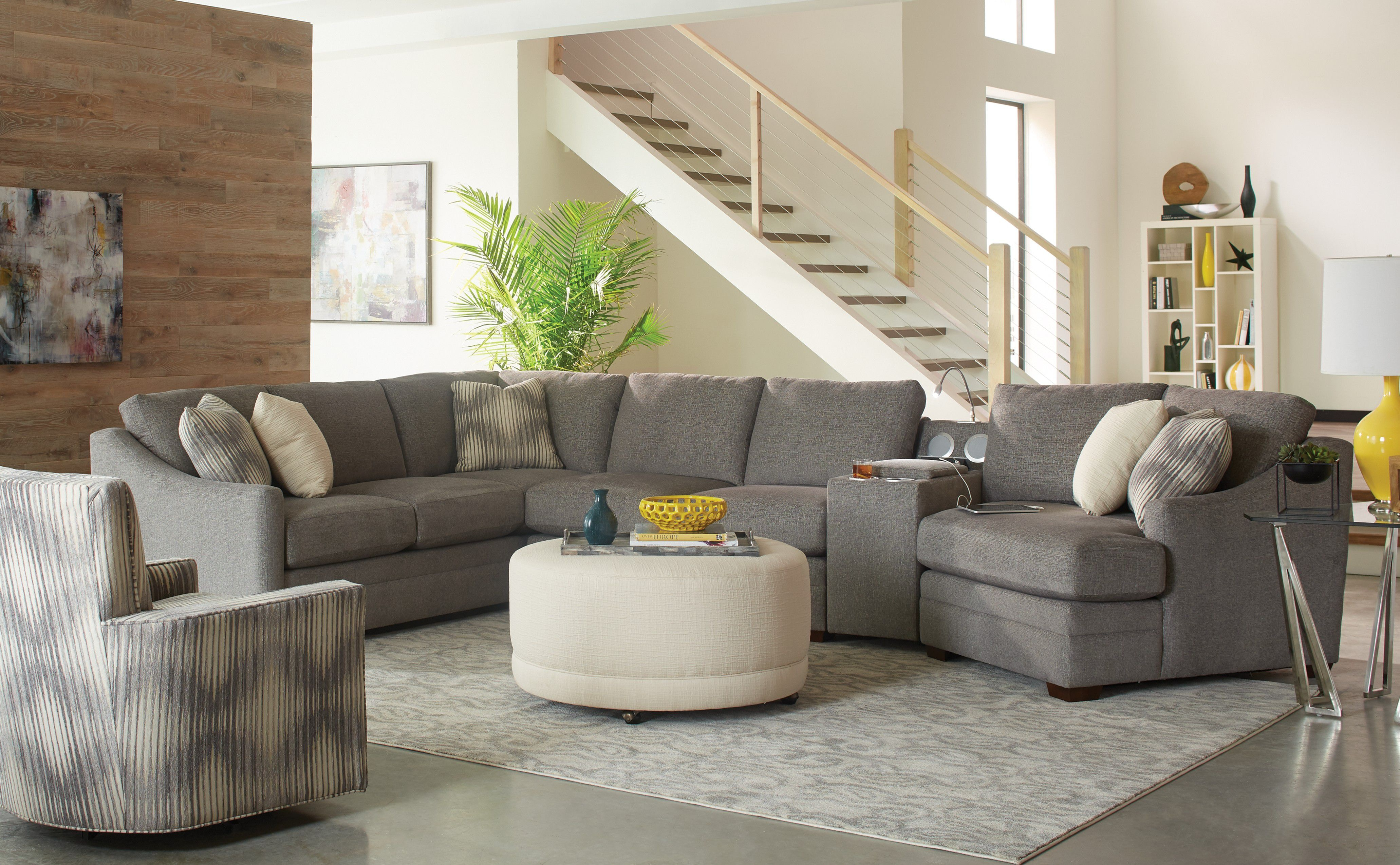 ... Craftmaster Sectional F9332 Sect ...
