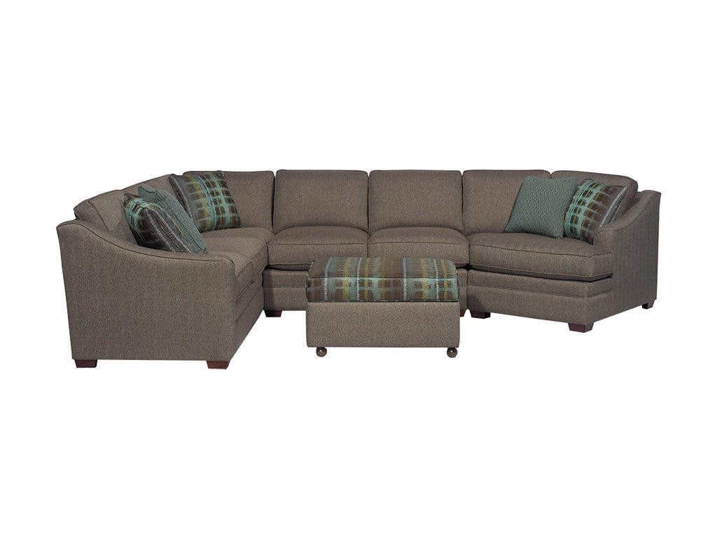 Hickorycraft Sectional F9431 Sect. Hickorycraft Living Room Sectional F9431 Sect   Klopfenstein Home