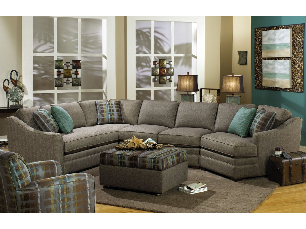Living Room Sectionals On Craftmaster Living Room Sectional F9431 Sect Craftmaster