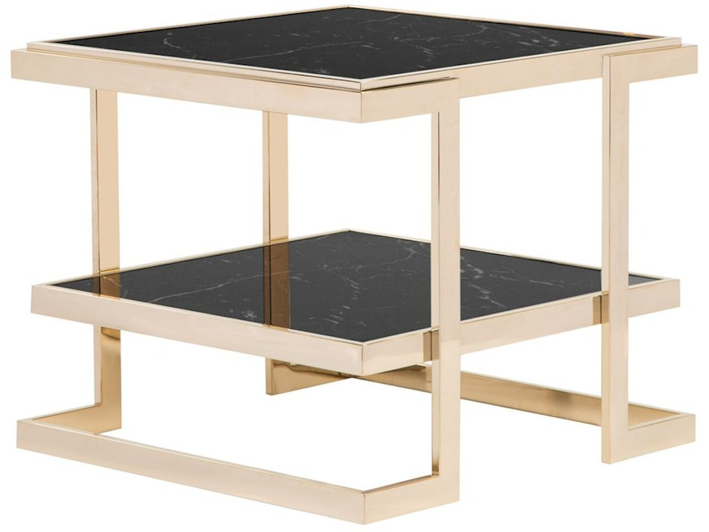 curations limited living room deco side table fitzgerald home furnishings. Black Bedroom Furniture Sets. Home Design Ideas