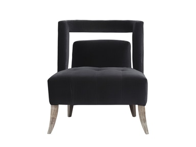 Curations Limited Parisian Velvet Arm Chair 7841.3001