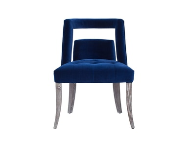 Curations Limited Parisian Velvet Dining Chair 8826.3001