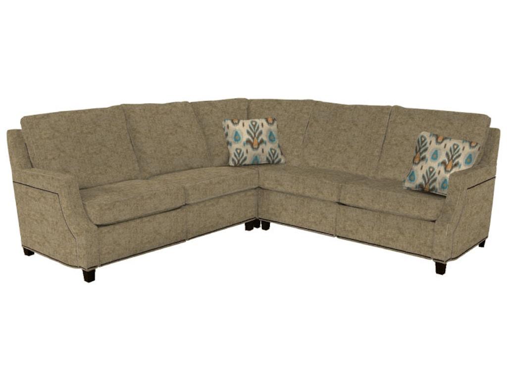 Norwalk furniture living room 3 piece sectional 104901 for Norfolk furniture
