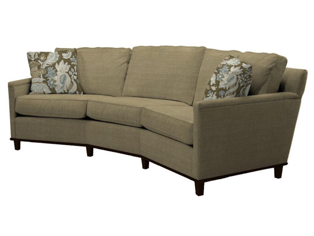 Norwalk furniture living room wedge sofa 87580 for Norfolk furniture