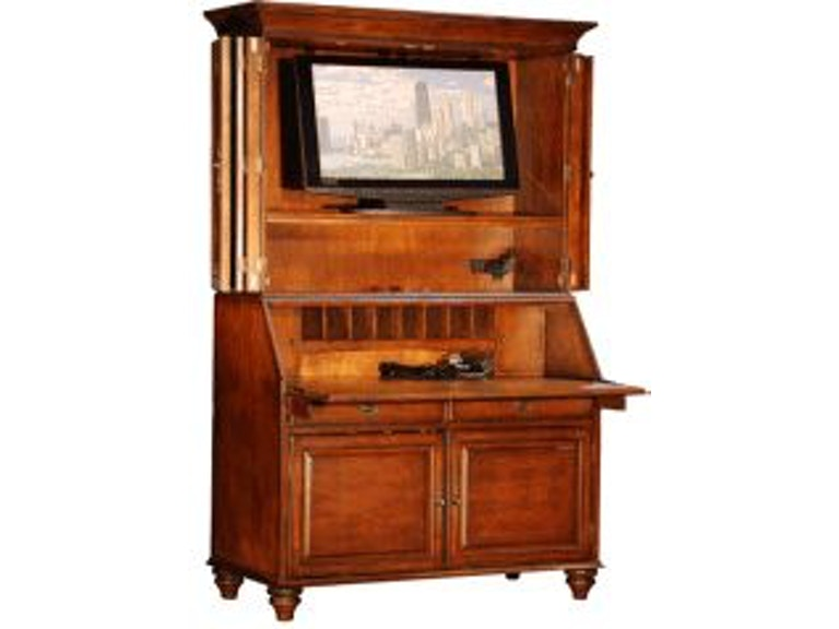 jasper cabinet home office regency television secretary
