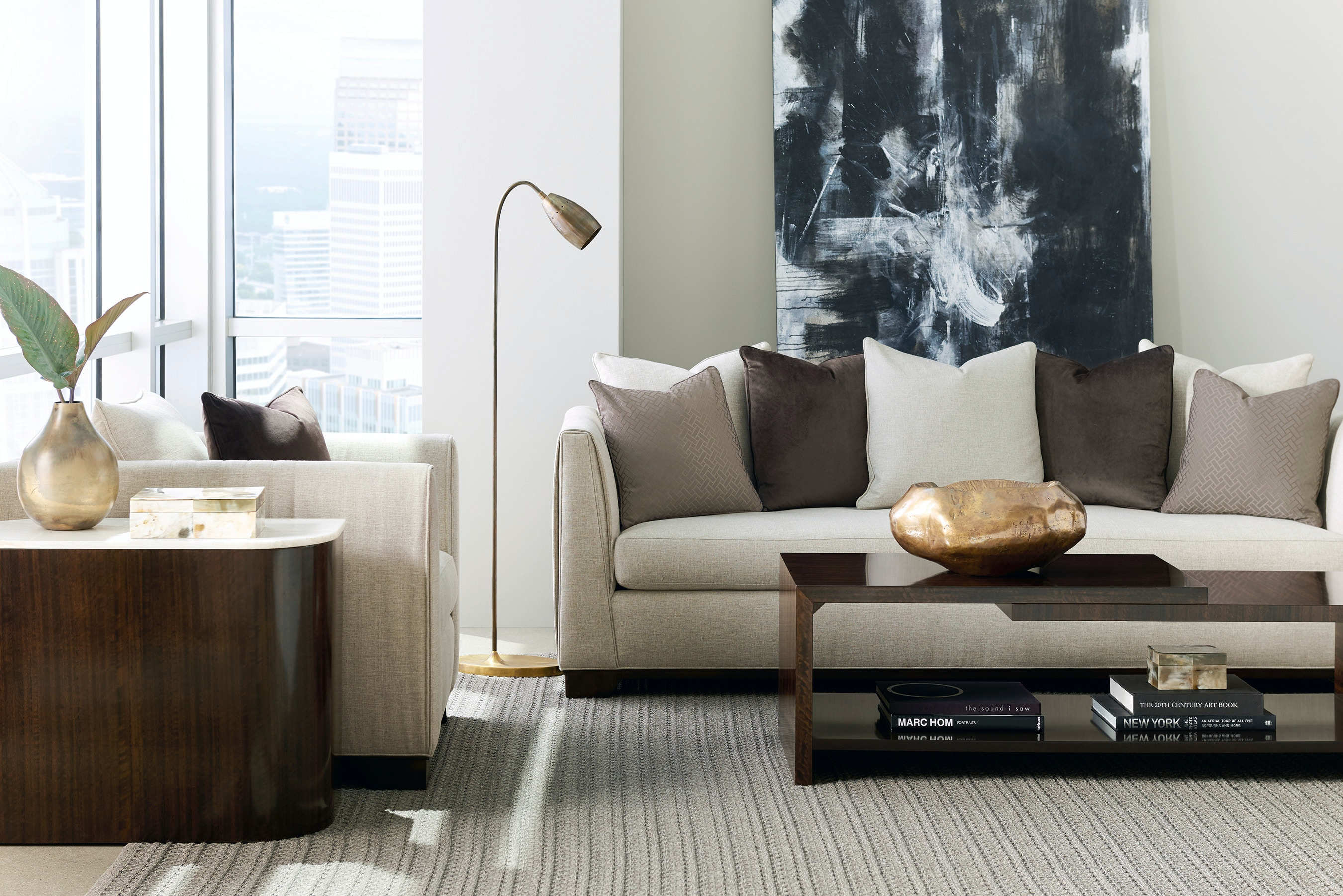 Gentil Caracole Modern Moderne Sofa M020 417 012 A
