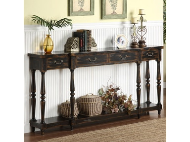Accents by Andy Stein Living Room 4 Drawer Console
