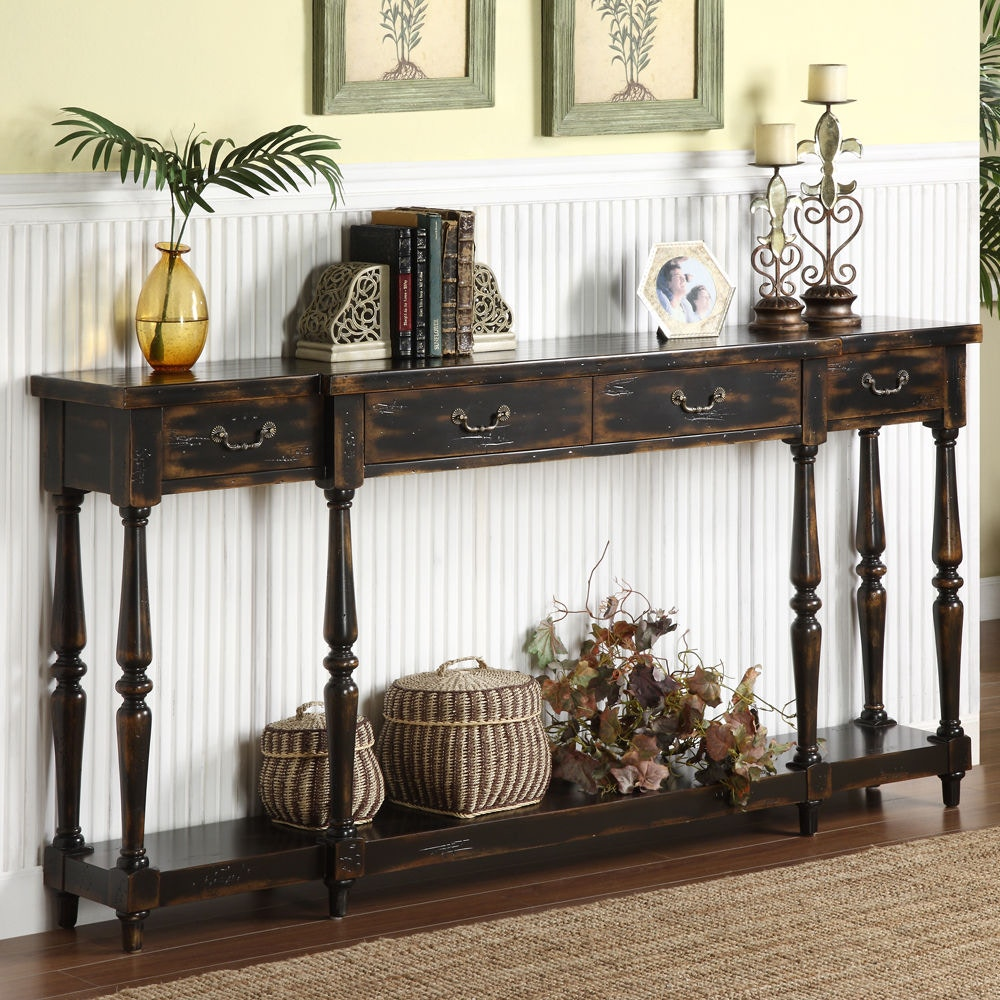 Exceptional Accents By Andy Stein 4 Drawer Console 32094 ...