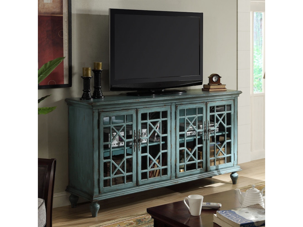 Accents by Andy Stein Dining Room 4 Door Media Credenza 39620 ...