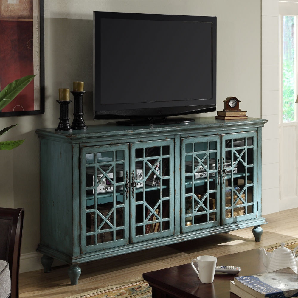 Accents By Andy Stein Dining Room 4 Door Media Credenza