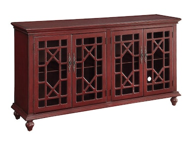 Accents by Andy Stein Home Entertainment 4 Door Media Center