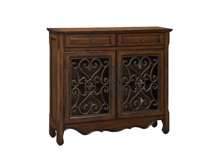 Coast to Coast Accents 2 Drawer 2 Door Cupboard 56416