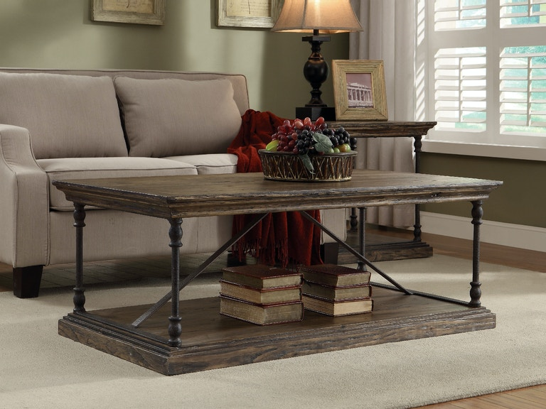 Coast To Coast Accents Living Room Cocktail Table 61621 Bob Mills Furniture