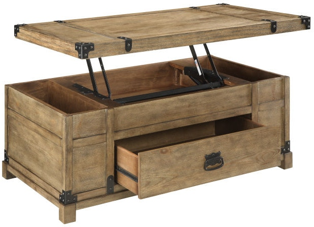 coast to coast accents living room lift top cocktail table