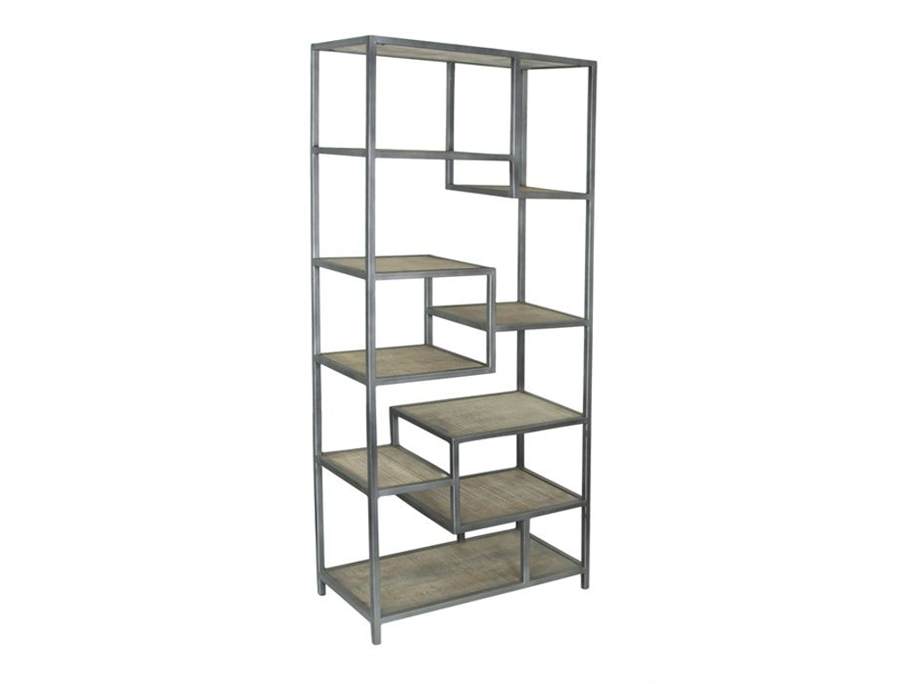 Jadu accents living room etagere 75326 schmitt furniture for Dining room etagere