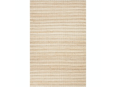 Jaipur Rugs Naturals Solid Pattern Cotton/ Jute Taupe/Ivory Area Rug AD03