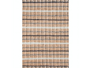 Jaipur Rugs Naturals Textured Cotton/ Jute Taupe/Gray Area Rug AD12