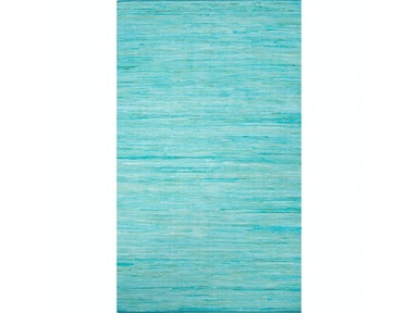 Jaipur Rugs Jaipur Solids/ Handloom Solid Pattern Blue/Bleue Cotton Area Rug ANN07