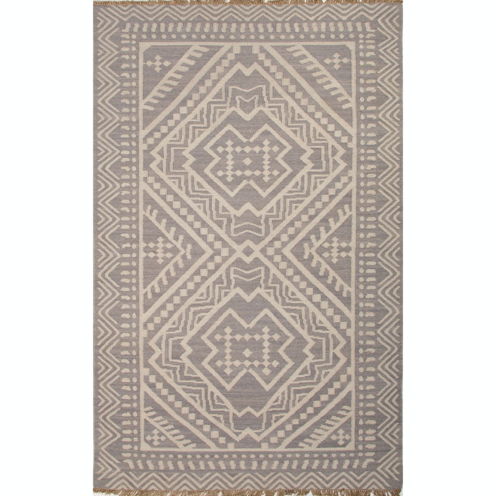 jaipur rugs flatweave tribal pattern wool redmulti area rug 8x10