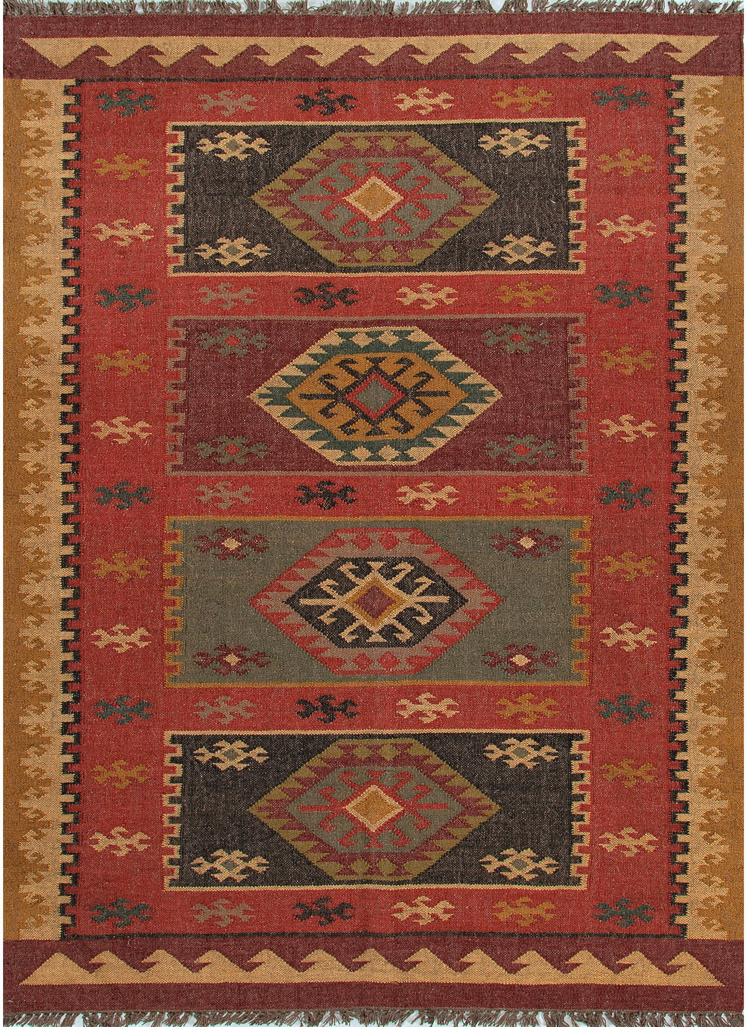 4x6 Flat Woven Kitchen Rug