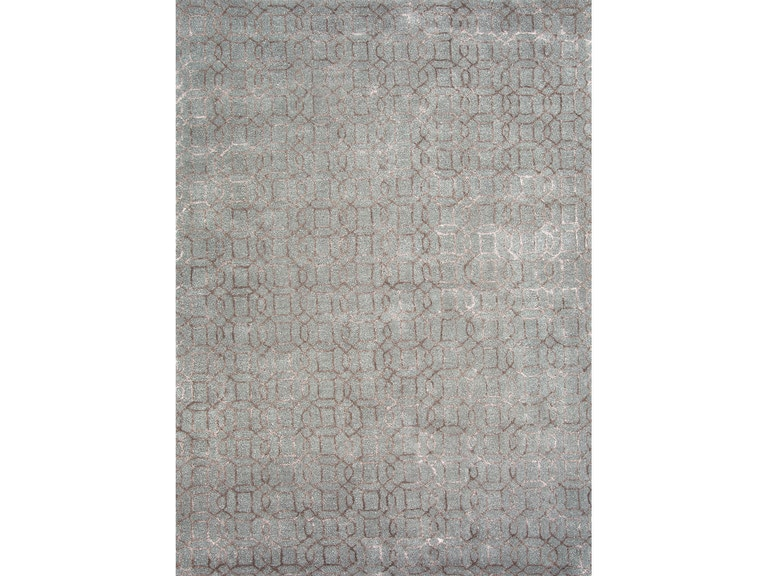 Jaipur Rugs Hand Tufted Geometric Pattern Wool Art Silk Gray Tan Area Rug