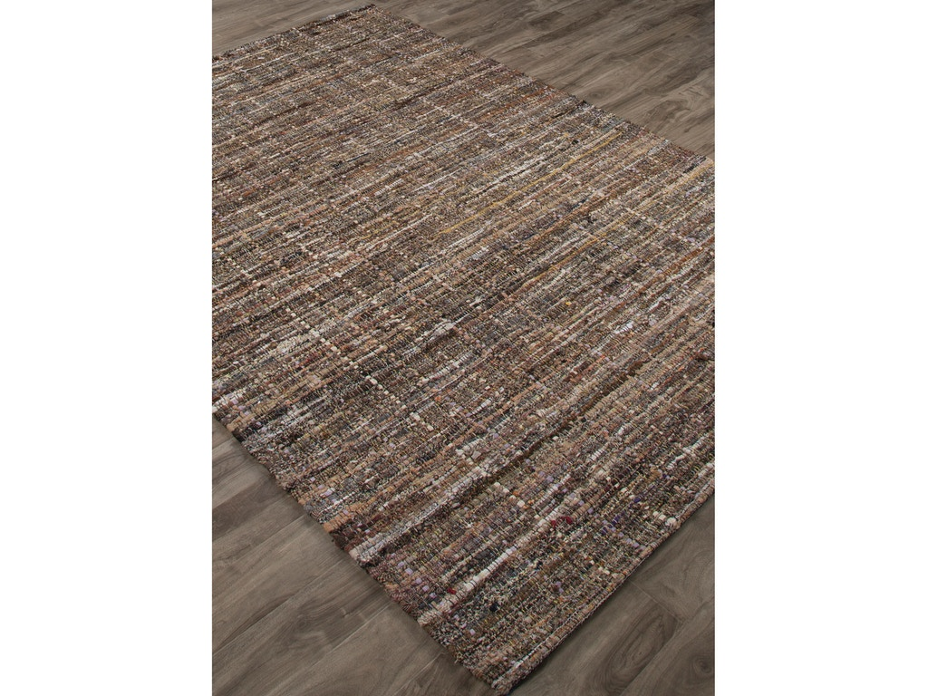 Jaipur Rugs Solids Handloom Texture Pattern Brown Cotton Area Rug Mad02