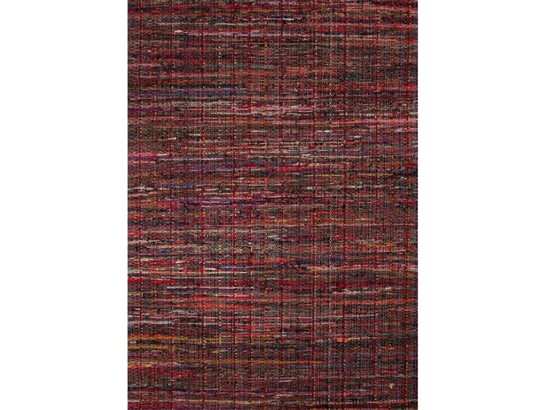 Jaipur Rugs Solids Handloom Texture Pattern Red Cotton 2x3 Area Rug Rug124542