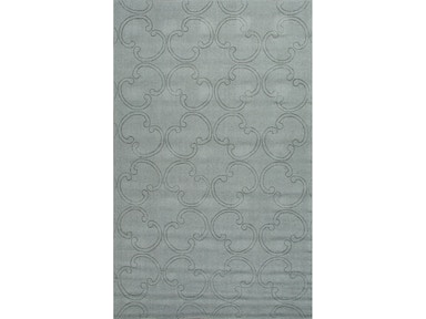 Jaipur Rugs Floor Coverings Handmade Looped Cut Wool Gray Solid Area Rug