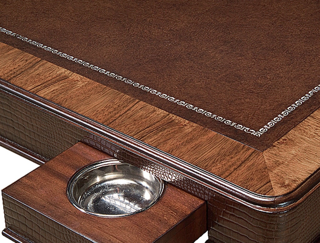 Beautiful ... Chaddock Laslo Game Table (Leather) 134 54L
