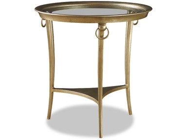 Chaddock Living Room Royale Round End Table