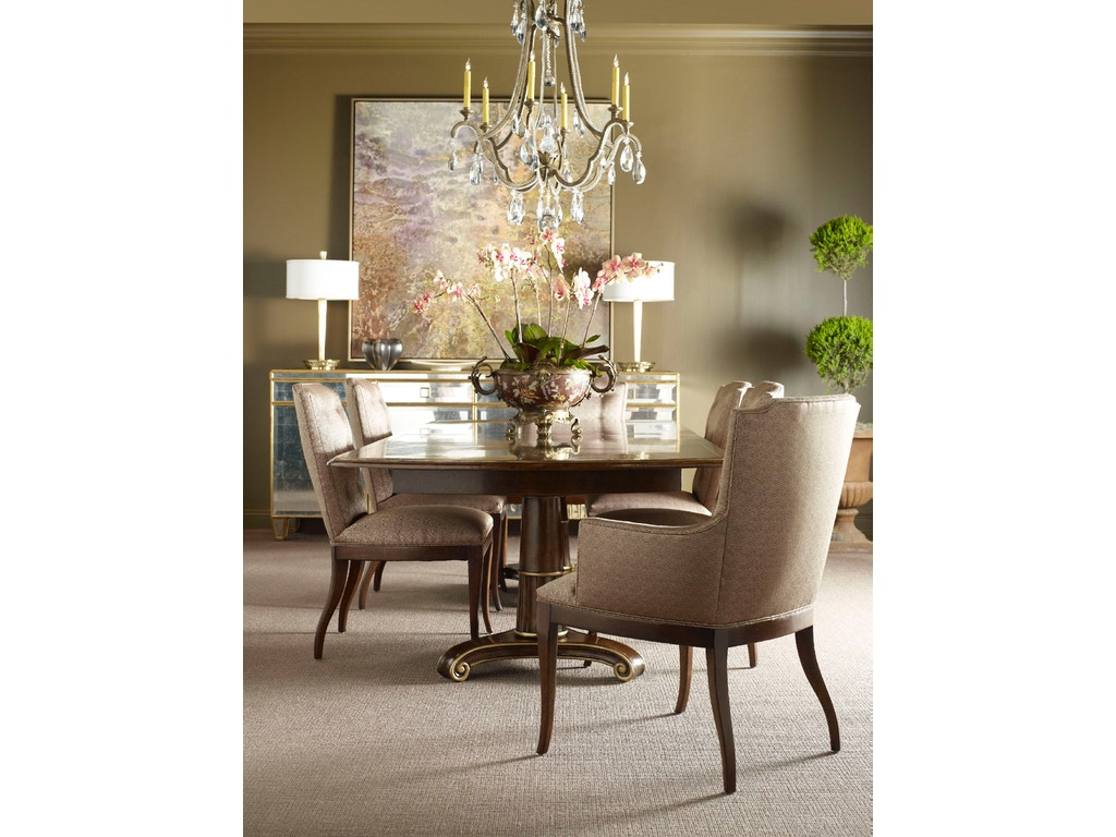 Chaddock Dining Room Tara Arm Chair Z-1017-27 - Chaddock ...