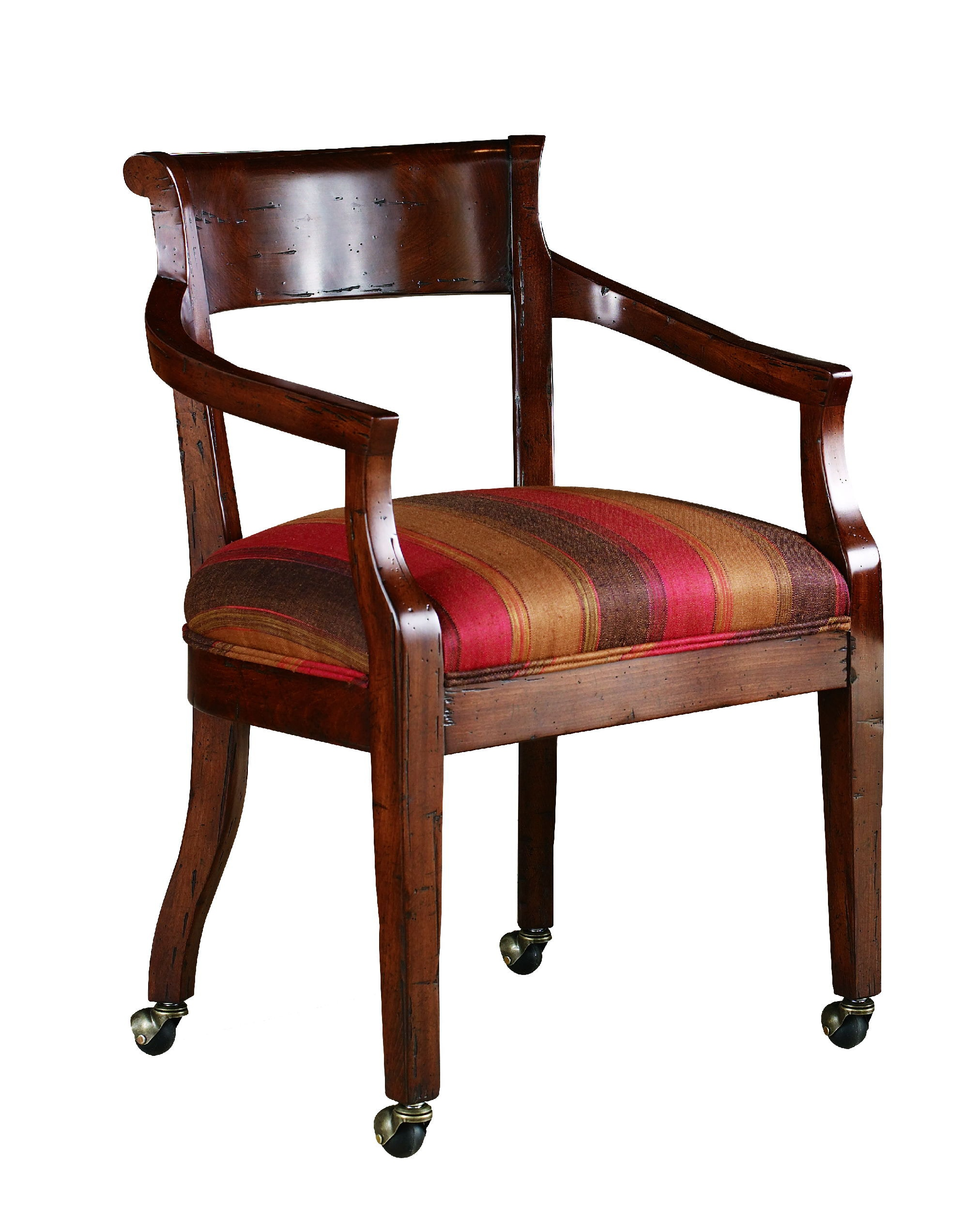 Chaddock Dining Room Hartford Upholstered Arm Chair CE0332A : Hickory Furniture Mart : Hickory, NC